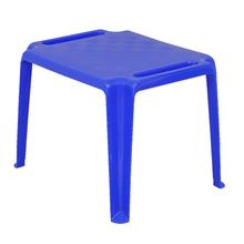 Mesa Plástico Infantil Donachica Azul 46x50x65cm