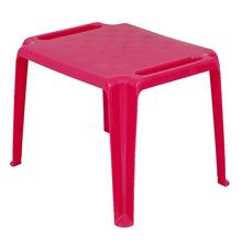 Mesa Plástico Infantil Donachica Rosa 46x50x65cm