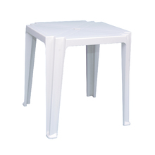 Mesa Plástico Quadrada Tambaú Branca  72x68x68cm