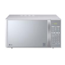 Micro-ondas LG Grill Prata Espelhado 30L 110v - MH7053R.FS1FL