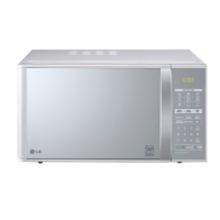 Micro-ondas LG Grill Prata Espelhado 30L 220v - MH7053RA.FS1G