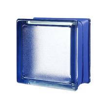 Mini Bloco de Vidro Clássico Azul 14,6x14,6x8cm Seves