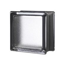 Mini Bloco de Vidro Clássico Preto 14,6x14,6x8cm Seves