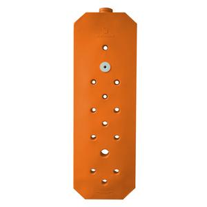 Mini Cisterna Vertical Slim 97 Litros Laranja 1,77x0,55x0,12m Waterbox