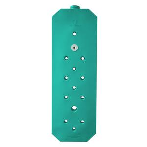 Mini Cisterna Vertical Slim 97 Litros Verde 1,77x0,55x0,12m Waterbox