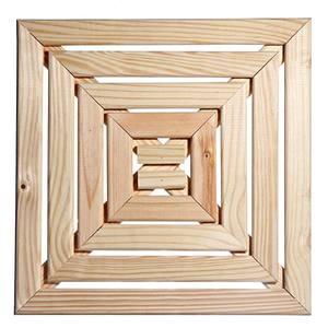 Mini Deck Madeira Decorativo Pinus p/Piscina 50x50cm Home Wood