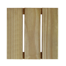 Mini Deck Modular de Madeira Pinus Autoclavado 30x30cm Madvei