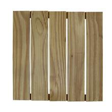 Mini Deck Modular de Madeira Pinus Autoclavado 50x50cm Madvei