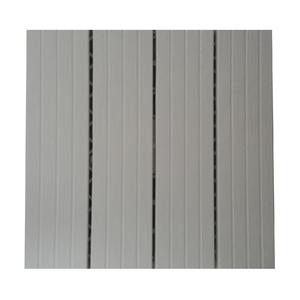 Mini Deck Modular de Plástico Branco Liso 30x30cm Massol