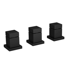 Misturador para Bidê Black Matte Cubo Deca