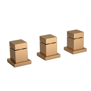 Misturador para Bidê Gold Matte Cubo Deca