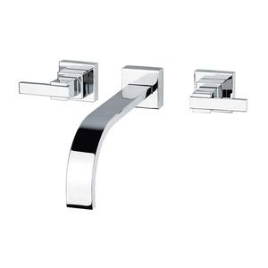 Misturador Convencional para Banheiro Parede Bica Fixa Alta Cromado Shiva  C-1879-SH-CR Fabrimar