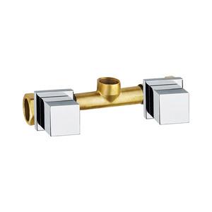 Misturador Convencional para Banheiro Parede  Cromado Vitra C-2116-VI-CR Fabrimar