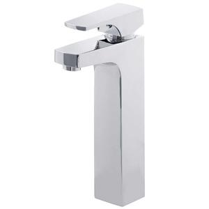 Misturador Monocomando para Banheiro Mesa Bica Alta  Cromado Reims G12224-BR Sensea