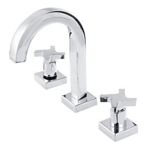 Misturador para Banheiro Mesa Bica Alta Cromado Fabrimar Zeta C-1876-ZET-CR