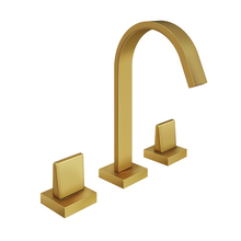 Misturador para Banheiro Mesa Bica Alta Dourada Prima Fani