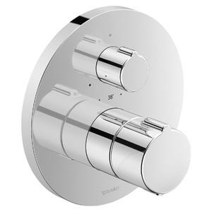 Misturador Termostático para Ducha B2 Cromado Duravit