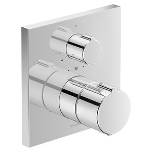 Misturador Termostático para Ducha Quadra C1 Cromado Duravit