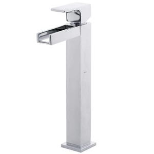 Misturadores Monocomando para Banheiro Mesa Bica Fica Alta Cromado Unic Cascata 2885C Deca