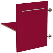 Módulo 1 Porta e Prateleira Vermelho Remix Móveis Bechara
