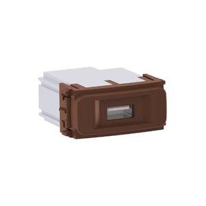 Módulo Carregador USB Marrom Composé WEG