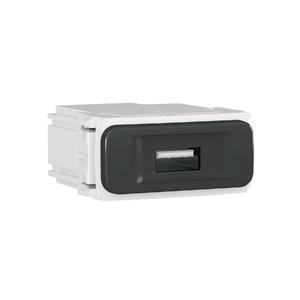 Módulo Carregador USB Preto Composé WEG