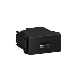 Módulo Carregador USB Preto Refinatto WEG