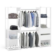 Módulo Closet Branco 180x203x47cm Rivera Politorno