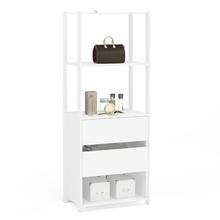 Módulo Closet Branco 180x67,2x47,5cm Rivera Politorno