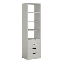 Módulo Closet Branco 222x60x50cm Spaceo