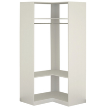 Módulo Closet Branco 222x99,7x99,7cm Spaceo