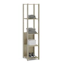 Módulo Closet Carvalho Claro 180x37,7x47,5cm Rivera Politorno