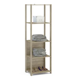 Módulo Closet Carvalho Claro 180x53,7x47,5cm Rivera Politorno