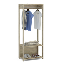 Módulo Closet Carvalho Claro 180x90,2x47,5cm Politorno