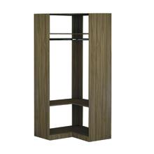 Módulo Closet Nogal 222x52x99,7cm Spaceo