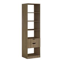 Módulo Closet Nogal 222x60x50cm Spaceo