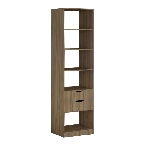 closet m dulo 1 nogal 222x60x50cm toulon spaceo leroy merlin. Black Bedroom Furniture Sets. Home Design Ideas
