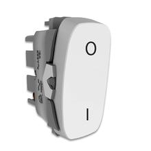 Módulo de Interruptor Bipolar Simples 10A Branco Gracia Alumbra