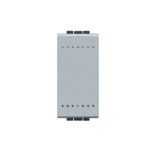 Módulo de Interruptor Simples 16A 250V Aluminio LivingLight Bticino