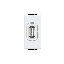 Módulo de Tomada Carregador USB 750mA Branco LivingLight Bticino