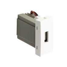Módulo de Tomada de Carregador USB Branco InovaPro Alumbra