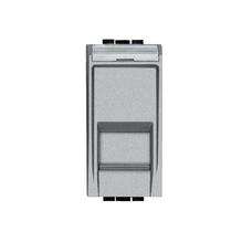 Módulo de Tomada de Informatica RJ45 Aluminio LivingLight Bticino