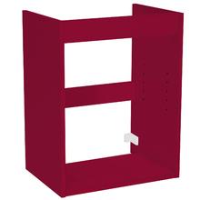 Módulo Inferior 45x32cm Vermelho Remix Móveis Bechara