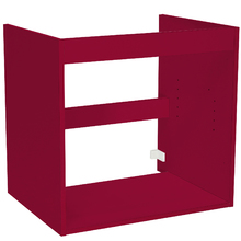 Módulo Inferior 60x46cm Vermelho Remix Móveis Bechara