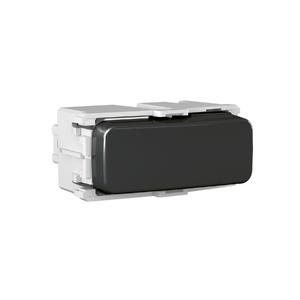Módulo Interruptor Bipolar Simples 10A/250V Preto Composé WEG