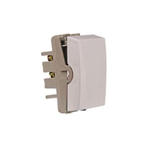 Módulo Interruptor Simples Branco Mares Romazi