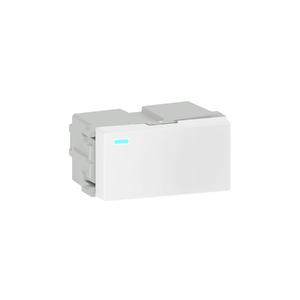 Módulo Interruptor Simples/Paralelo LED 10A/250V Branco Refinatto WEG