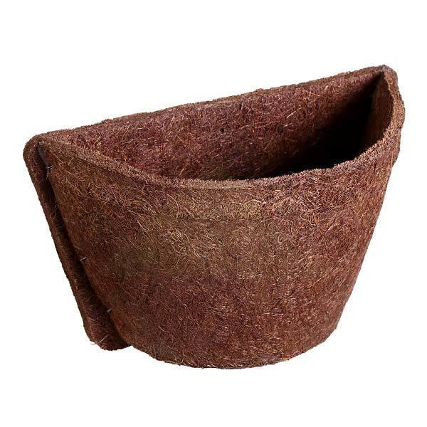 Vaso para jardim vertical fibra de coco meio vaso 18x26cm for Fibra ceramica leroy merlin
