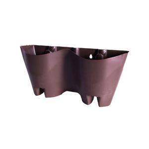 Módulo para Jardim Vertical Plástico Tabaco19x41cm FG Import