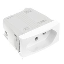 Módulo Tomada 2P+T 10A Unica Plus Branco - Schneider
